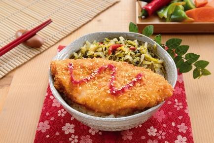 香酥鱈魚排飯 / 鱈カツご飯