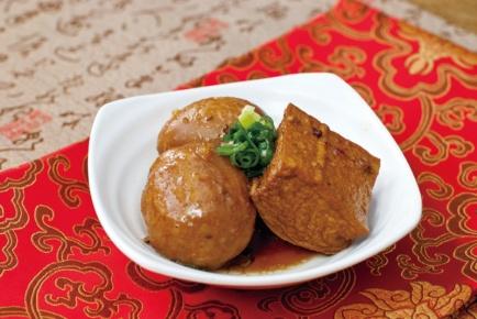 滷蛋滷丸油豆腐
