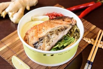 虱目魚肚蓋飯 / サバヒ丼