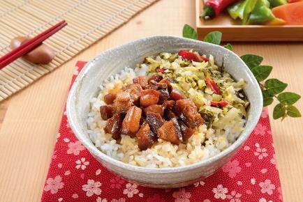 肉燥飯 / 豚肉煮込みかけご飯 (ルーローファン)