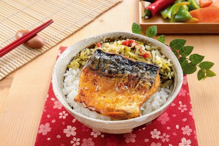 日式鯖魚飯 / 焼きサバご飯