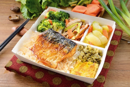 日式鯖魚便當